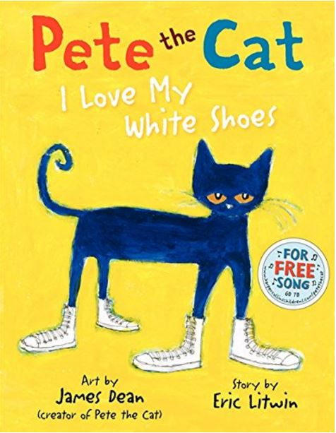 Pete the Cat Book by James Dean