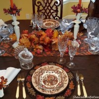 A Thanksgiving Tablescape With a View