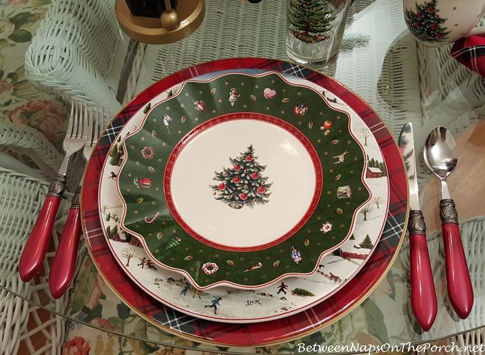 Villeroy & Boch Toy's Delight Green Salad Plate