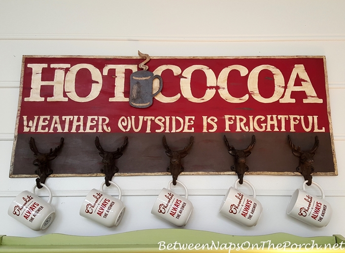 zz DIY Hot Cocoa Sign