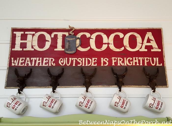 zz DIY Hot Cocoa Sign