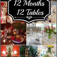 12 Tablescapes: One for Each Month of the Year