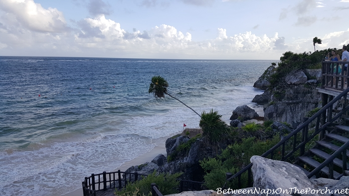 Beach at Tulum Ruins
