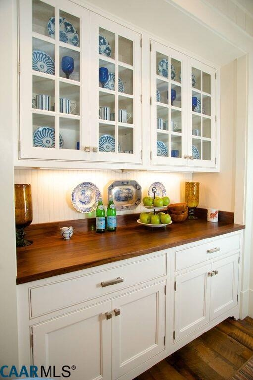 Built-in Cabinetry in Breakfast Room, The Fox Hill, Southern Living Plan
