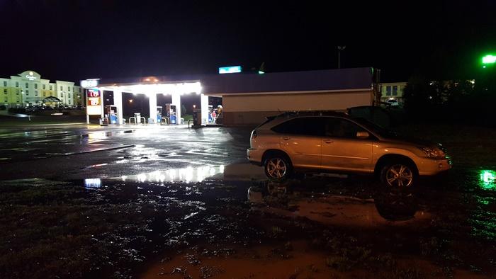 Car Stuck in Mud & Water