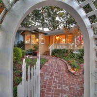 Adorable Carmel-by-the-Sea Cottage With Beautiful Gardens