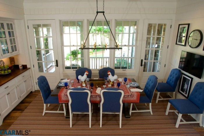Dining Area, The Fox Hill, Southern Living Plan