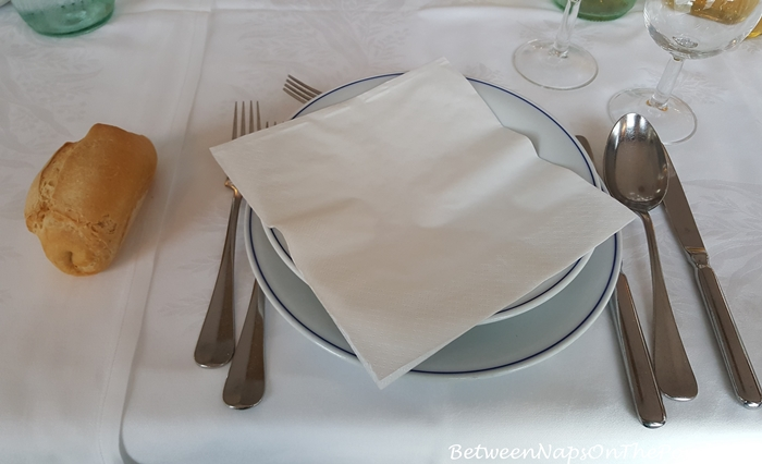 Dining in Hotel Windsor Savoia, Assisi
