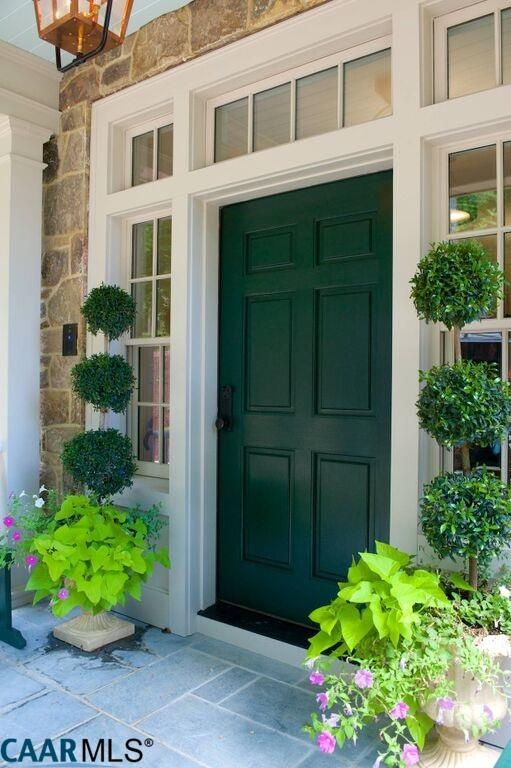 Front Door, The Fox Hill, Southern Living Plan