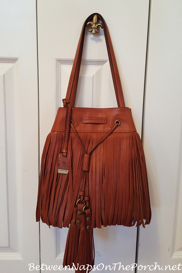 Frye Heidi Fringe Bag in Whiskey
