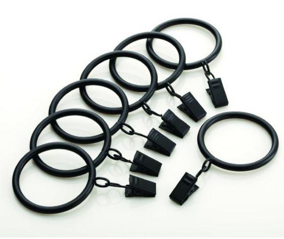 Levolor Classic Drapery Rings