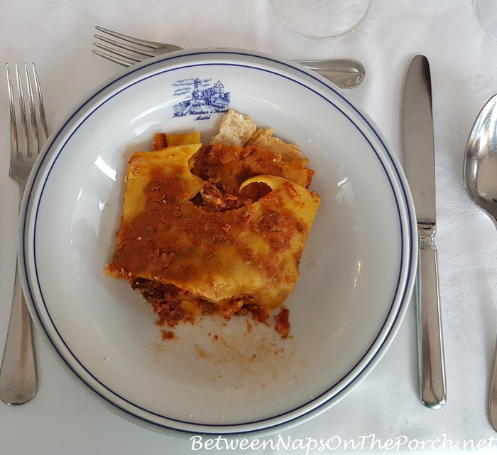 Lunch in Hotel Windsor Savoia, Assisi