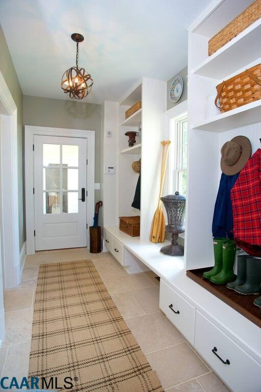 Mud Room, The Fox Hill, Southern Living Plan