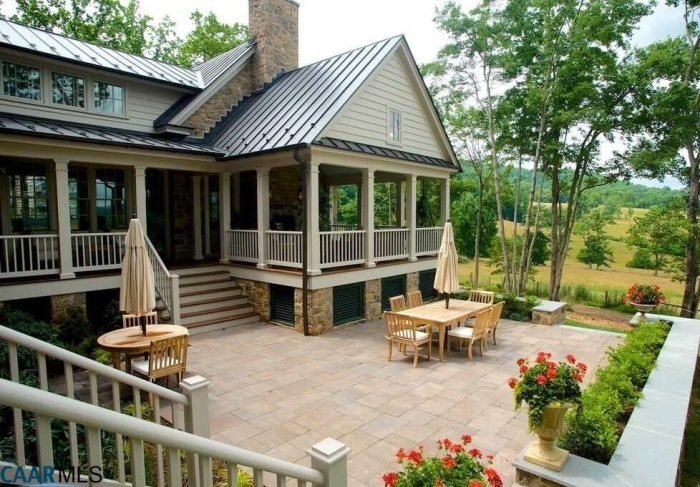 Patio & Porch, The Fox Hill, Southern Living Plan