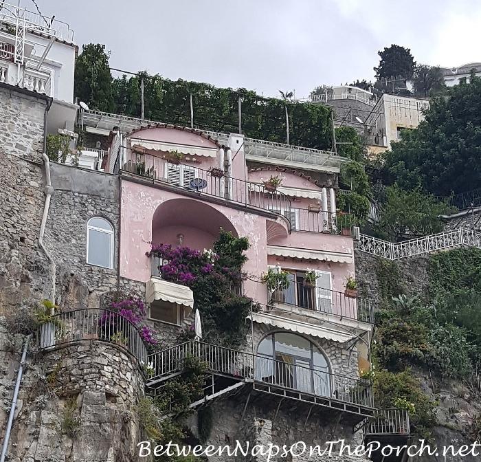 Pink Villa, Positano Italy