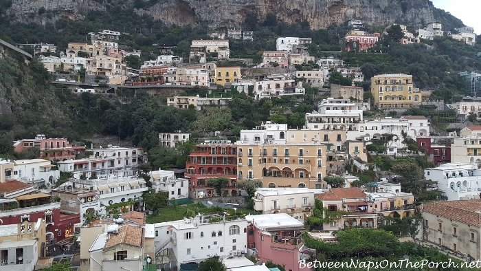 Positano, Italy Cliffside Homes