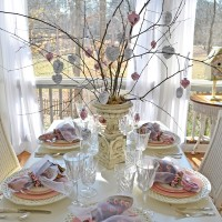 Ideas for Valentine's Day Tables