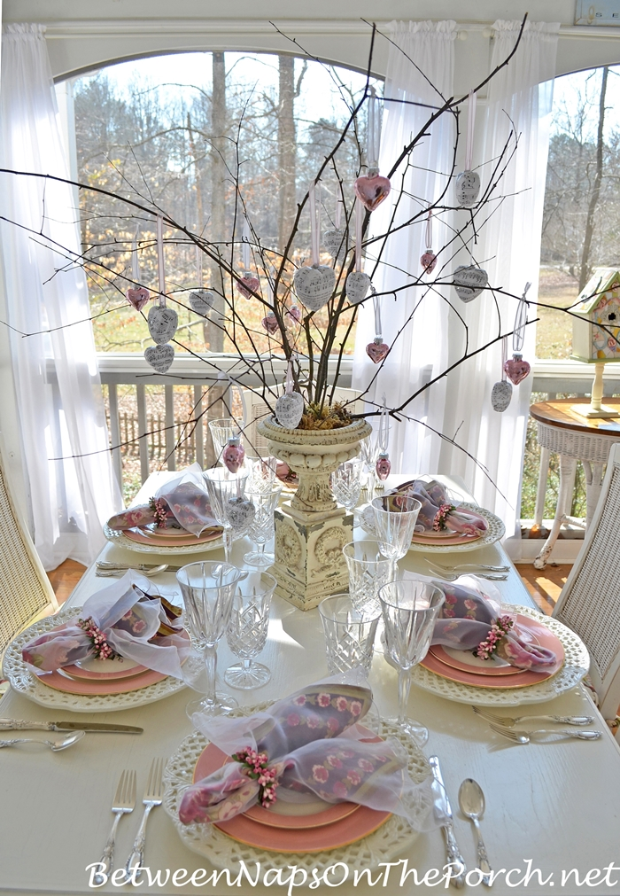Ideas for valentine s day tables