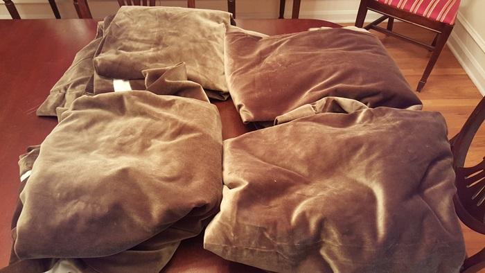 Velvet Drapes