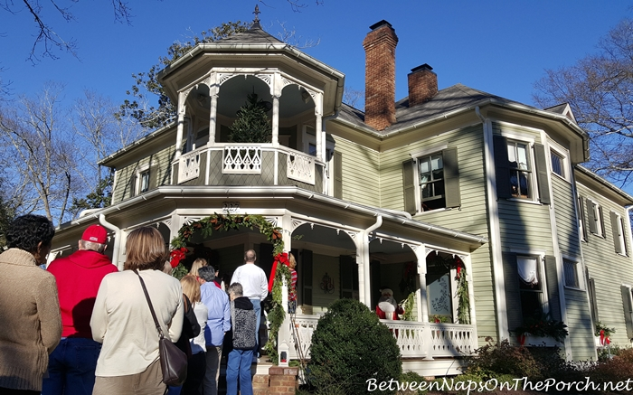 Victorian Home with Cupola Style Porch Addition