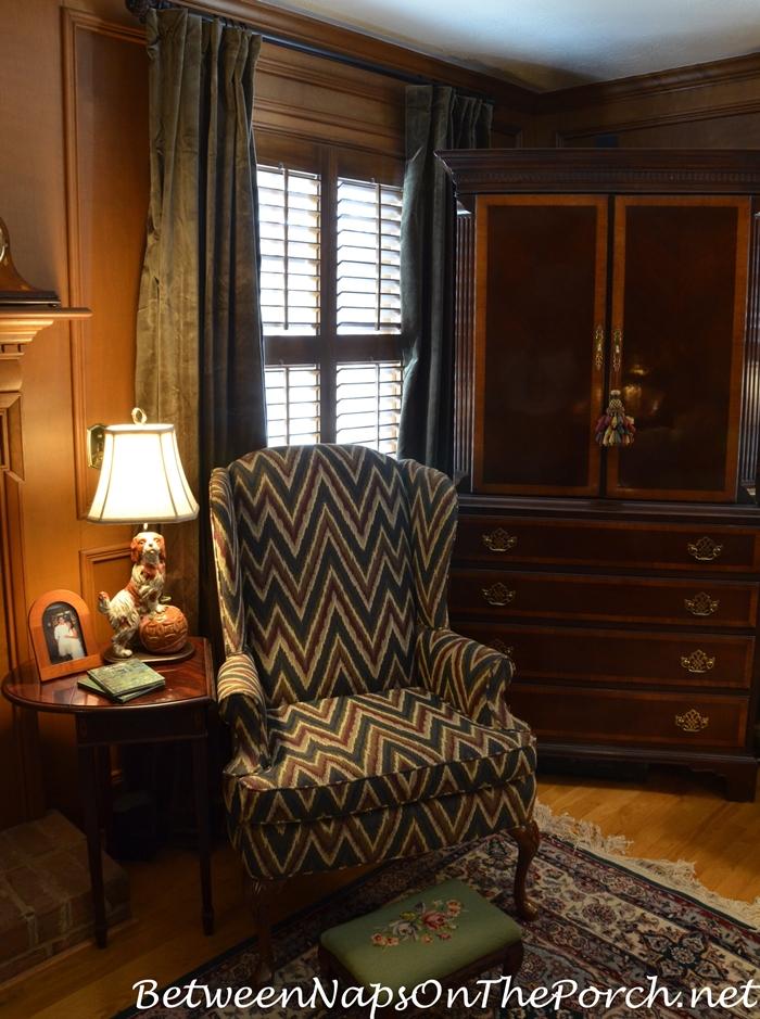 velvet drapes for a paneled english country style living room dupioni silk drapery panel ballard designs