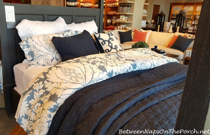 Blue and White Bedding, Pottery Barn