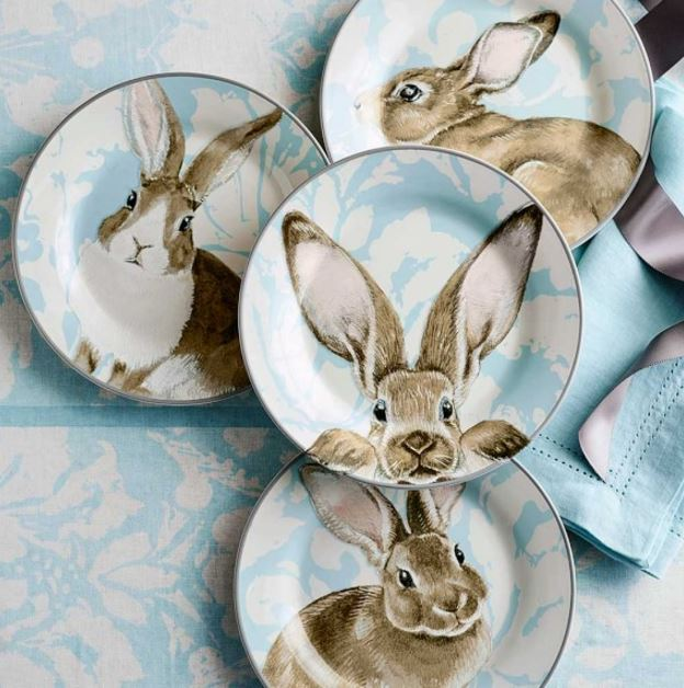 Spring And Easter Table Setting Ideas