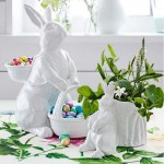 Found: Not One, But 3 Bunnies with Baskets!