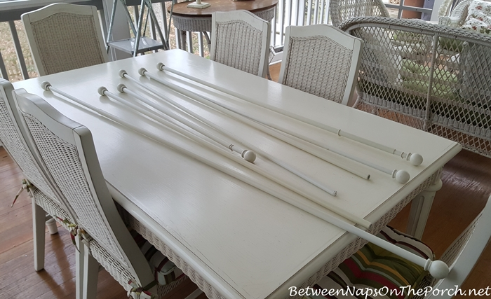 Curtain Rods for Porch Curtains
