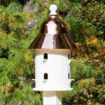A New Addition To The Garden: Copper Roof Dovecote