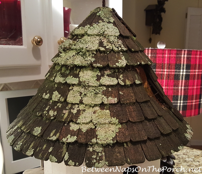 Lazy Hill Dovecote Roof With Moss