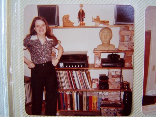 Married Student Housing, Brick Bookshelves