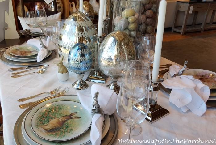 Meadow Bunny Table Setting, Pottery Barn