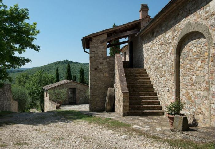 Michelangelo's Historic Tuscan Home in Italy