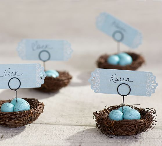 Nest Placecard Holders, Pottery Barn