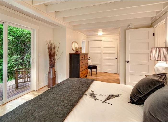 Paneled Sliding Closet Doors for Cottage