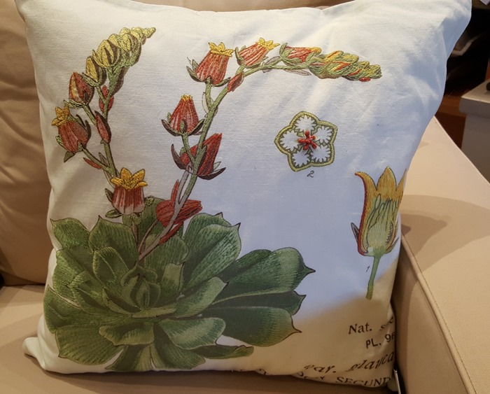 Pottery Barn Floral Spring Pillow