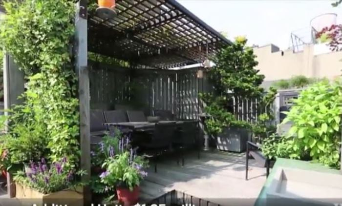Rachael Ray's New York Apartment Deck