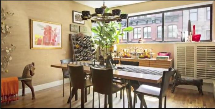 Rachael Ray's New York Dining Room