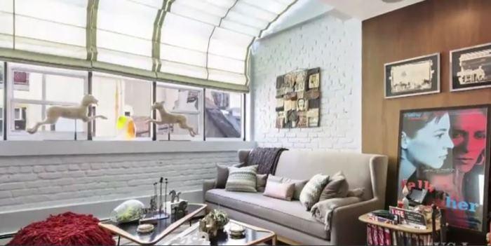 Rachael Ray's New York Living Room