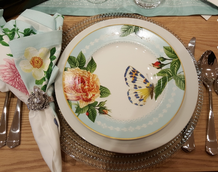 Spring Garden Plates Williams Sonoma & Spring and Easter Table Setting Ideas