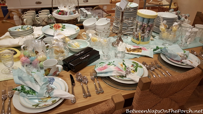 Williams-Sonoma Spring Garden Table Setting