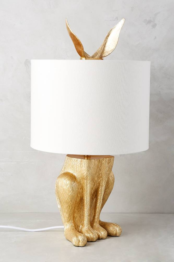 Bunny Lamp with Ears