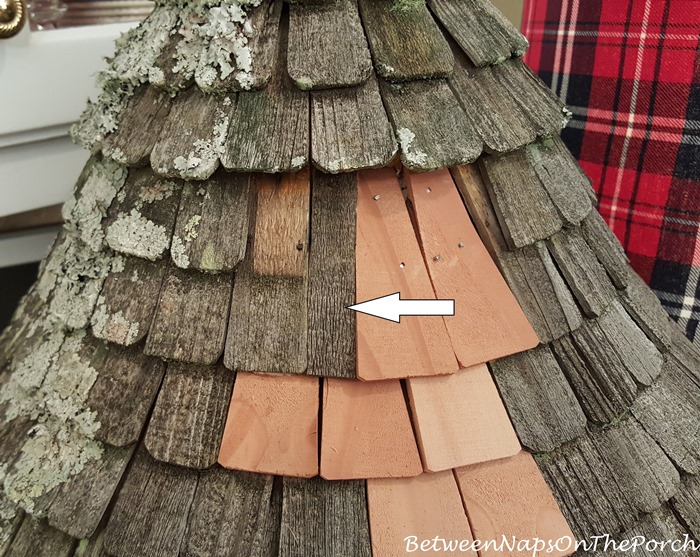 Cedar Shingles to Repair Dovecote Roof