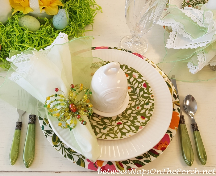 Easter Spring Table Setting, Kim Parker's Emma's Garland by Spode_wm