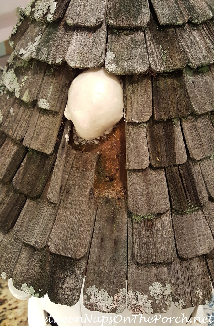 How To Repair A Woodpecker Damaged Roof Of A Lazy Hill
