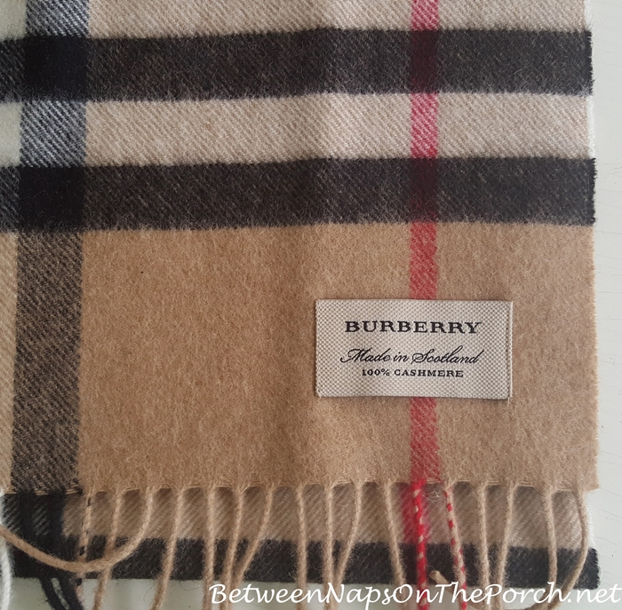 How To Tell If a Burberry Scarf Is Real