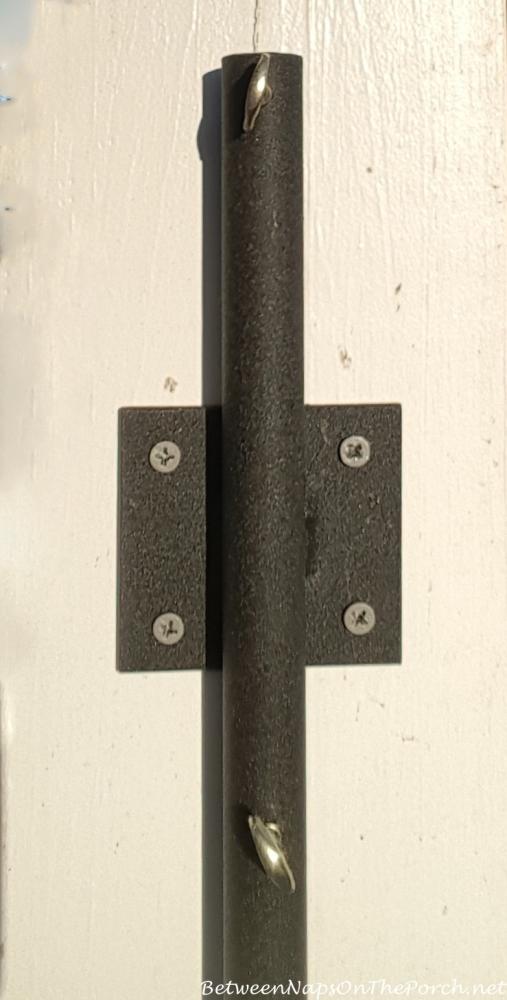 hooks decks clamp on feeders bird shephard iron pin for hangers vtg humming plant feeder deck