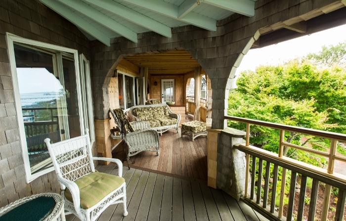 Land End Inn Porch