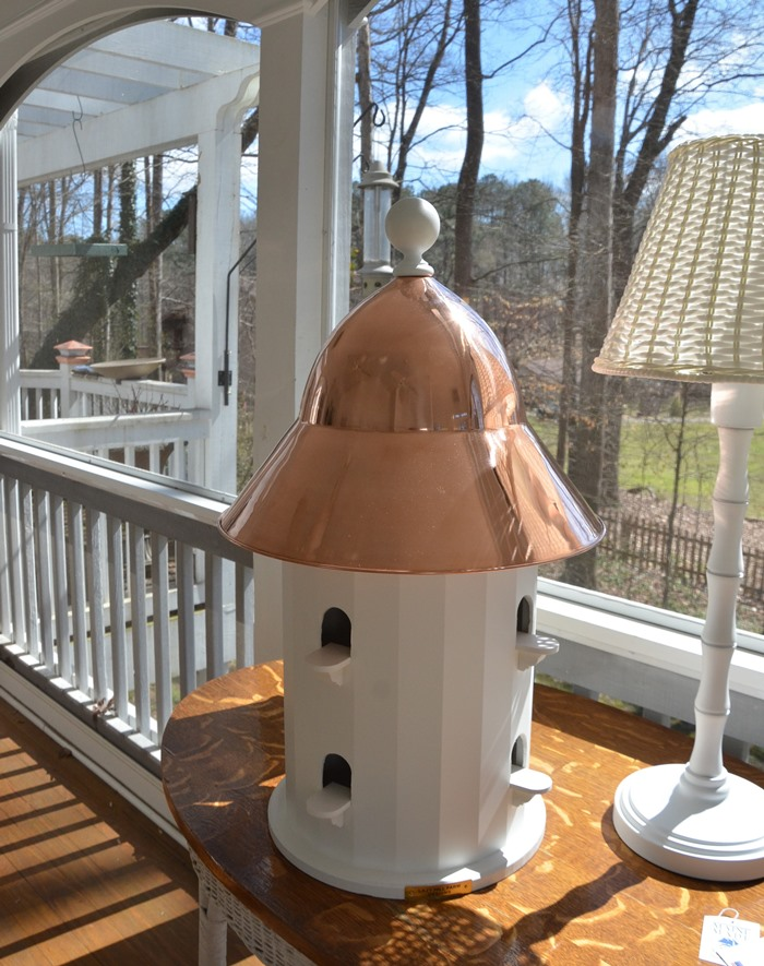 Lazy Hill Copper Roof Dovecote Birdhouse